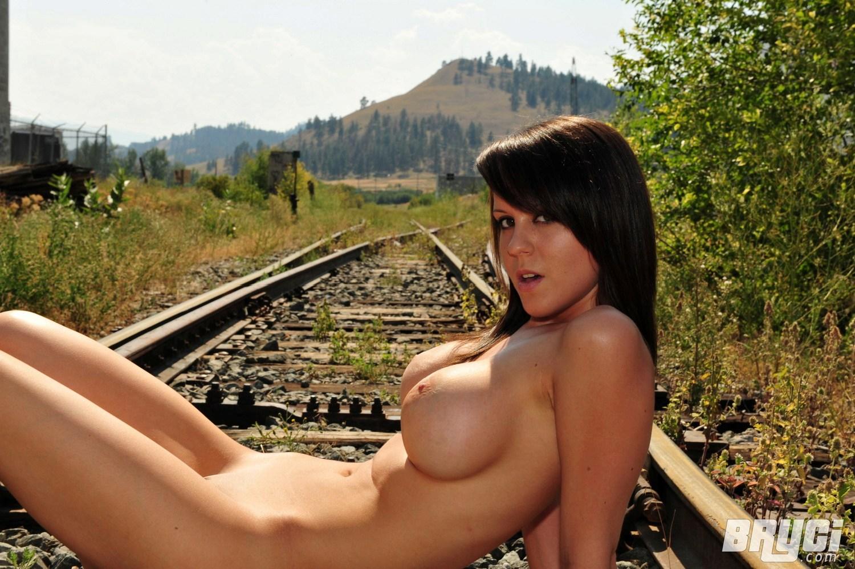 Naked girl railroad, amber deluca lesbian videos