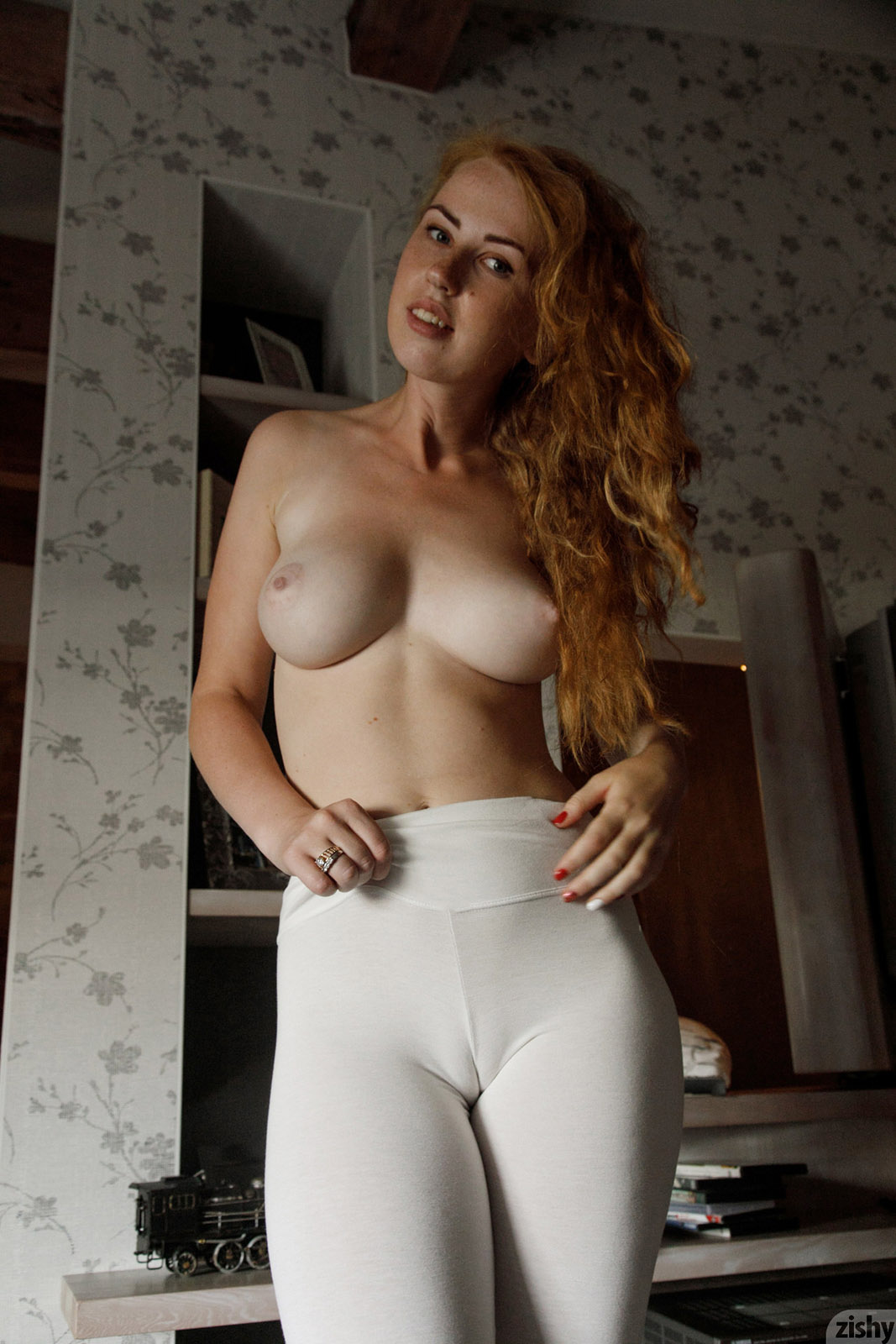 Tightly white nude