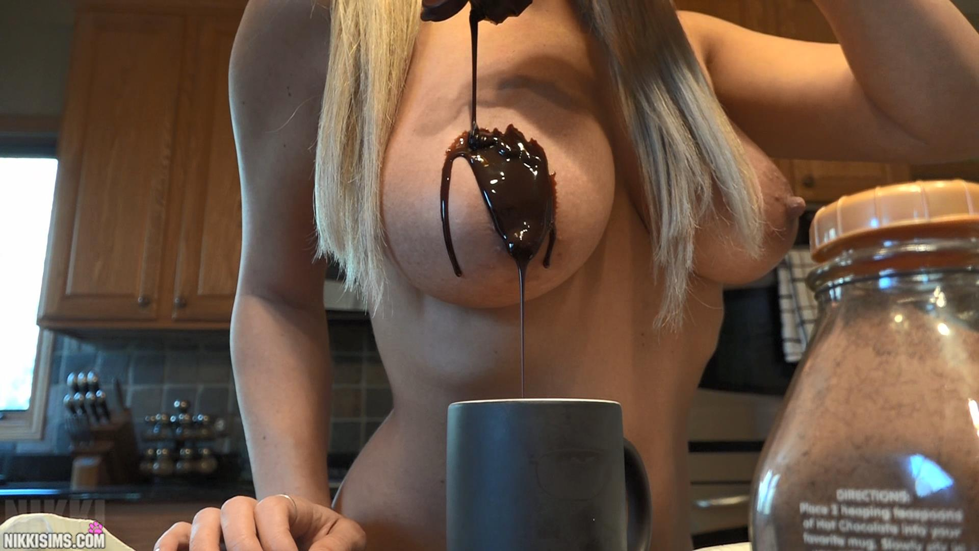 Boob chocolate picture video